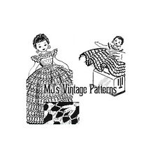 Vintage Toaster Cover Doll Pattern ~ Crocheted Dress