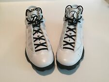 "Jordan 6 Rings Premier ""Motorsport"" White/Black Sz 11 397464 101"