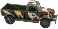 Dodge Power Wagon U.S. Marine Military 1:32 Diecast 4 Wheel Drive Collector Toy