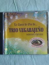 LA EPOCA DE ORO DE. ..TRIO VEGABAJENO TROPICAL CARIBBEAN BOLERO AUDIO CD