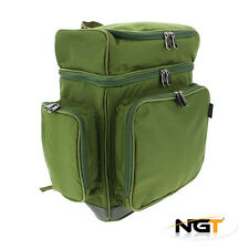 Nouveau ngt xpr multi compartiment sac à dos ngt carp coarse fishing tackle sac à dos