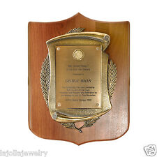 1992 Mr. Basketball Of The First Half Century George Mikan AWARD Plaque