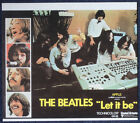 THE BEATLES REPRO LET IT BE MOVIE POSTER PAGE TAKEN FROM BOOK . 24 X 21 CM