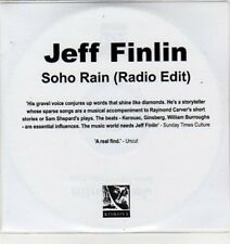 (BS425) Jeff Finlin, Soho Rain - DJ CD