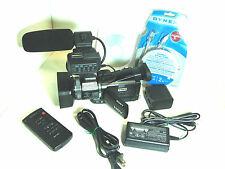 Very Low 20hrs Sony HVR-A1U Camcorder HDV 1080i mini DV Digital HD NTSC