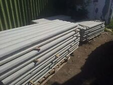 9 ft Intermediate Concrete Fence Post - Reinforced Steel -