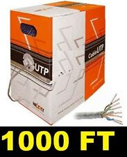 1000FT CAT6 ETHERNET LAN CABLE 1Gbps CAT-6 WIRE 1000' WIRE CATEGORY 6 INTERNET
