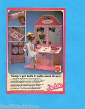 TOP987-PUBBLICITA'/ADVERTISING-1987- MATTEL - BARBIE STUDIO ACCONCIATURE TRUCCO