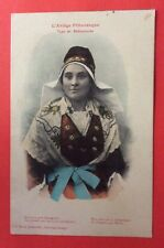CPA. L'Ariège Pittoresque. 09 - Type de BETHMALAISE. Costume. 1915. Yeux Noirs