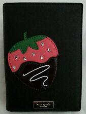 KATE SPADE CHOCOLATE DIPPED STRAWBERRY CREME DE LA CREME IMOGENE PASSPORT CASE