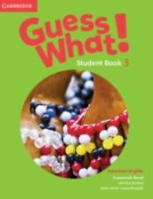 Guess What! American English Level 3 Student's Book, Reed, Susannah, Very Good c