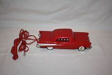 Vintage Telemania 57' Chevy Red Corded Telephone (car horn ringer)