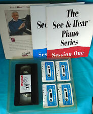 "Introductory Piano Lesson Series, ""See & Hear"", books & audio cassettes, 1991"
