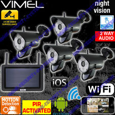 Home Security System Wireless Cameras System IP Surveillance WIFI Home Farm PIR