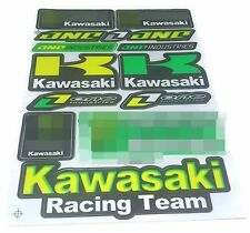 1 SHEET KAWASAKI MOTOCROSS MOTORCYCLE ATV ENDURO BIKE RACING DECAL STICKER SK139
