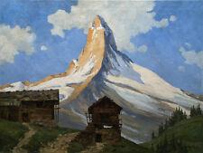 Matterhorn, signiert B.......?