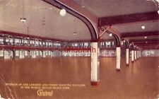 LARGEST DANCING PAVILION IN THE WORLD, EUCLID BEACH PARK, CLEVELAND, OH 1915