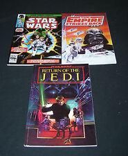 STAR WARS TRILOGY 3 GRAPHIC NOVELS / COMIC BOOKS A NEW HOPE EMPIRE  RETURN JEDI