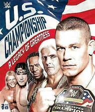 WWE: The U.S. Championship - A Legacy of Greatness (Blu-ray Disc, 2016,...