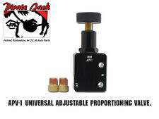 Adjustable Proportioning Valve for Universal Hot Rods, 3/8-24 Fittings