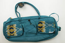 NWT Pendleton Sunset Pass Turquoise Yellow Beige Yoga Travel Workout Long Bag