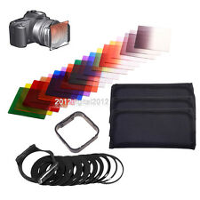 32 in 1 Graduated ND 2 4 8 + color filter Kit+ Holder set for Cokin P Series