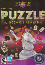 HOYLE PUZZLE & BOARD GAMES for PC & MAC SEALED NEW BOX