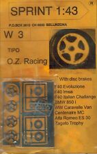 Sprint W3 1:43 Räder Wheel OZ Racing Ferrari F40 IMSA