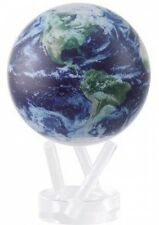 6 Satellite View with Cloud Cover MOVA Globe Decoration Moving Rotating Calm