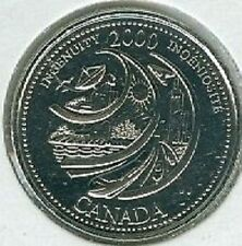 2000 Ingenuity - Building Tomorrow Quarter 25 Cent '00 Canada/Canadian Coin UNC