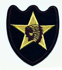 WWII US Army Indian Division Aufnäher Five Point Star Infantry Patch