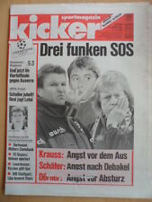KICKER 99 - 5.12. 1996 * BVB-Bukarest 5:3 Schalke-Brügge 2:0 HSV-AS Monaco 0:2