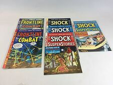 ****Lot of 6 issues Vintage FRONTLINE AND SHOCK 1992-95 Excellent Condition!!!!