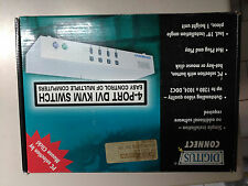 Digitus DC IC814-ID KVM switch per keyboard-video-mouse 4 porte PS2/DVI