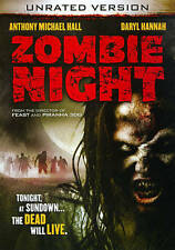 Zombie Night (DVD, 2013, Unrated) Daryl Hannah, Anthony Michael Hall, Alan Ruck