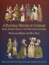 A Pictorial History of Costume From Ancient Times to the Nineteenth Ce-ExLibrary