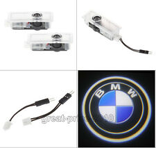 2 X CREE LED Car Door Welcome Laser Projector Logo Ghost Shadow Lights For BMW