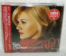 Kelly Clarkson Wrap In Red Deluxe Edition 2013 Taiwan CD+Poster w/OBI