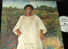 LETTA MBULU There's Music in the Air LP SOUL FUNK DJ PROMO WLP