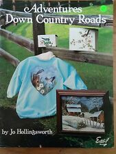Adventures down country roads Jo Hollingsworth art paint draw book magazine