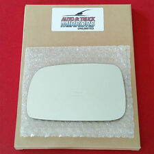 NEW Mirror Glass + ADHESIVE 07-11 TOYOTA CAMRY USA + SOLARA Driver Left Side