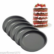 "Wilton Easy Layers 6"" x 5  Round Cake Pan Set  Baking Tins NEXT DAY DESPATCH"