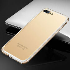 Ultra Slim Aluminum Metal Bumper Shockproof Case Cover for iPhone 7 4.7in/7 Plus