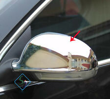 FIT FOR VW GOLF MK5 JETTA EOS SHARAN DOOR SIDE MIRROR CHROME COVER CAP TRIM
