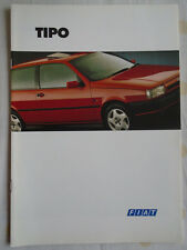 Fiat Tipo range brochure Jun 1993