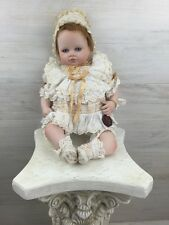 2000 Mundia Porcelain Doll Collectible LULA Baby COA