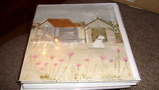 OLD BEACH HUTS HANNAH COLE MILKWOOD BEACH NEW GREETING CARD BLANK ALL OCCASIONS