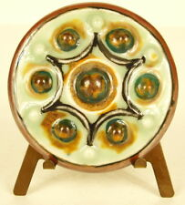 Camille Tharaud porcelaine de Limoge médaillon de vitrine diiamètre 57 mm