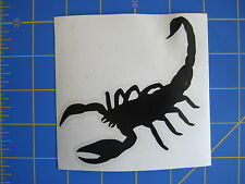 Scorpion Vinyl Decal - Sticker 4x4 - Any Color