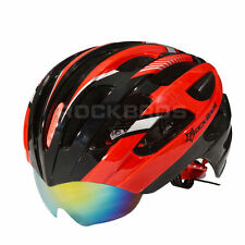 RockBros Helmet Unisex Road Bike MTB Cycling Helmet 57cm-62cm Red